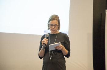 Präsentation der ersten Therapieentscheidungen durch Hannah Welponer..