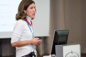 Marija Balic gab ein Status-Update zur PALLAS-Studie.
