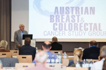 Günther Steger sprach über ABCSG 47/ IMpassion030.