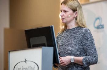ABCSG-Colorectal Branch: Gudrun Piringer sprach über die ersten Auswertungen der abgeschlossene Studie LM02.