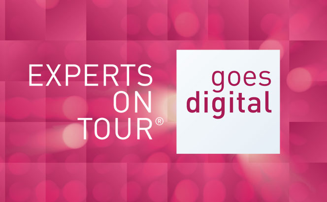 Experts on Tour goes digital - Das Fortbildungsformat als E-Learning