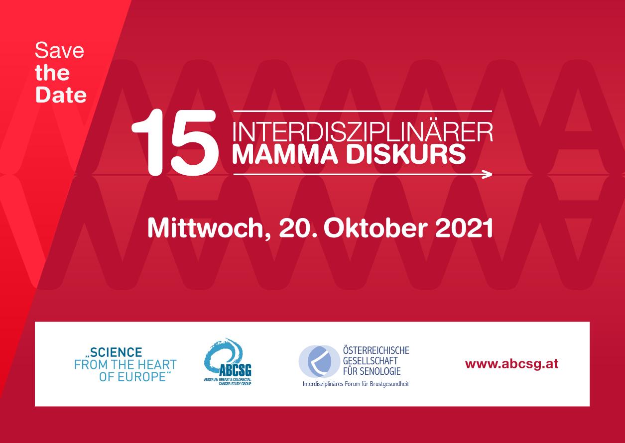 15. Interdisziplinärer  MAMMA-DISKURS