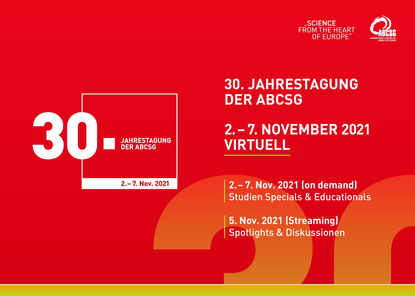 30. Jahrestagung der ABCSG